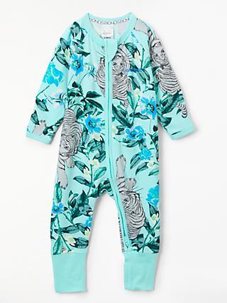5e51f14a838c Bonds Baby Unreal Tiger Print Wondersuit, Blue