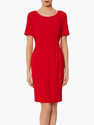 Gina Bacconi Lyla Moss Crepe Dress
