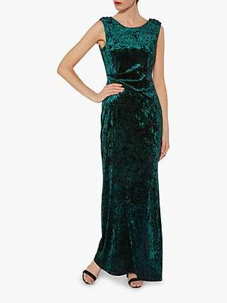 Gina Bacconi Anabelle Velvet Maxi Dress