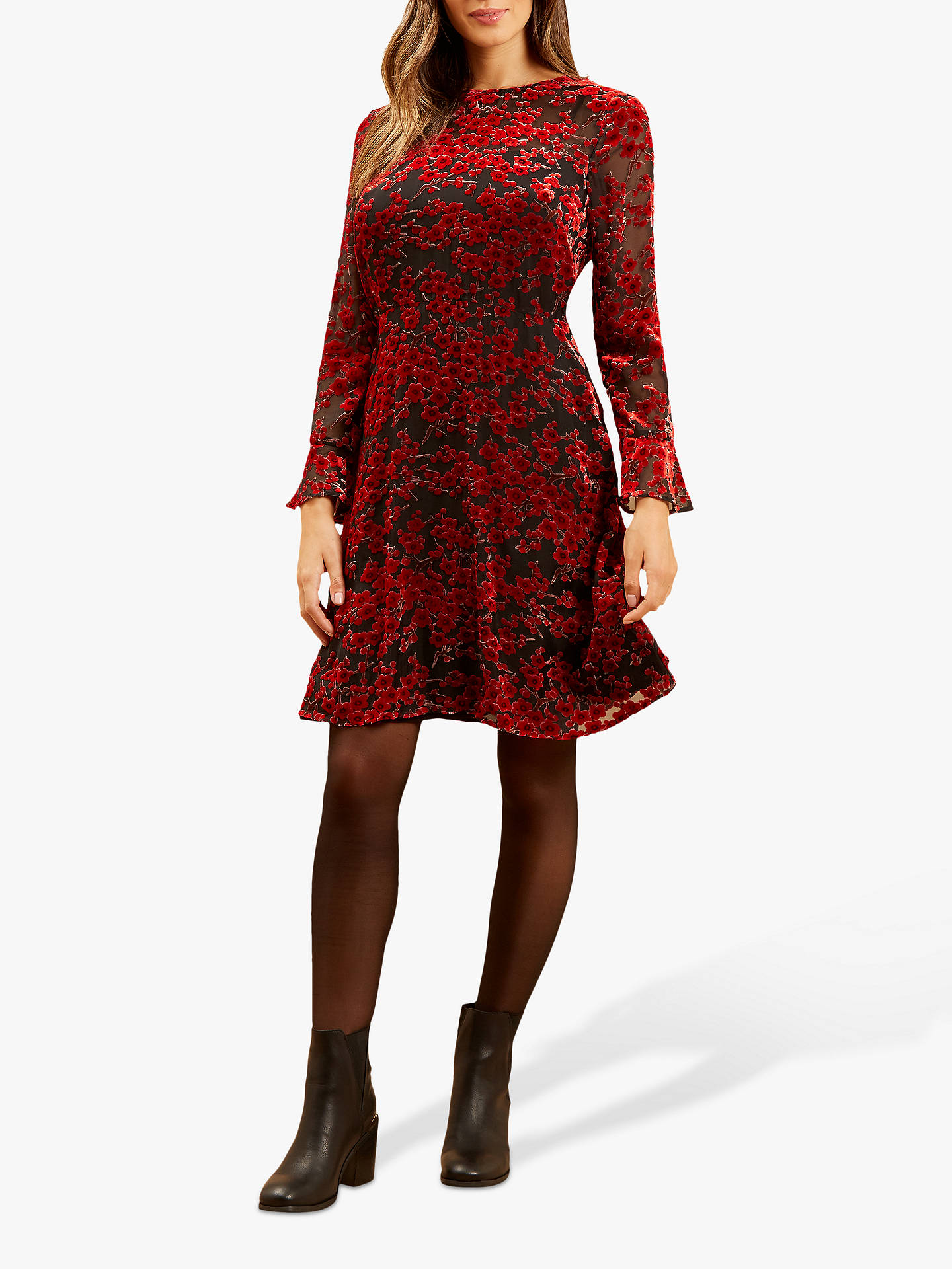 Buy Fenn Wright Manson Petite Nora Dress, Red, 14 Online at johnlewis.com