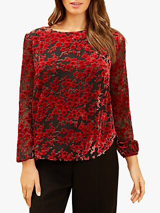 Fenn Wright Manson Petite Nora Top, Red