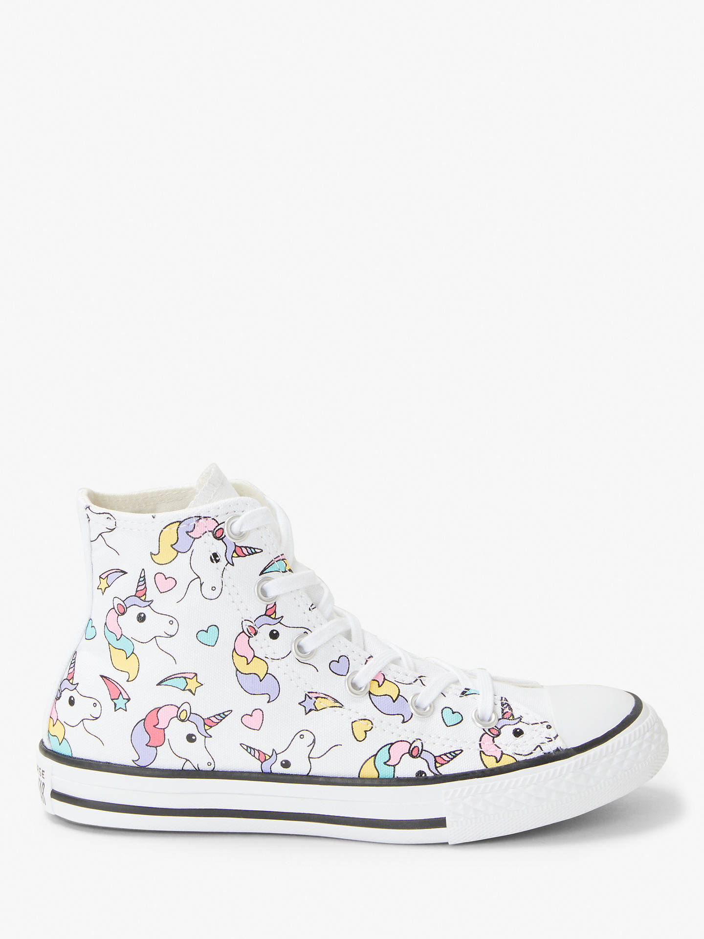 2a00007ce09 BuyConverse Children s All Star Rainbow Unicorn Hi-Top Trainers