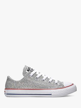 eb22f70dcf5 Converse Children s All Star 2V Glitter Trainers