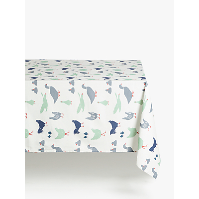 John Lewis & Partners Farmyard Wipeable Tablecloth, Multi