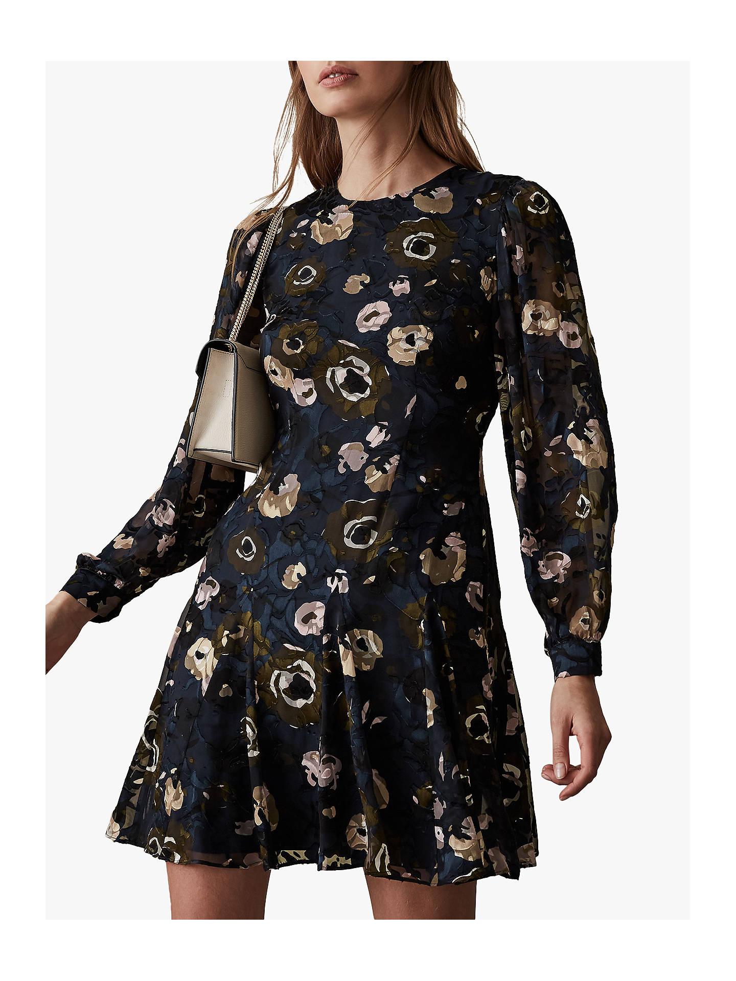 5fef44a2624 Buy Reiss Allie Floral Burnout Dress