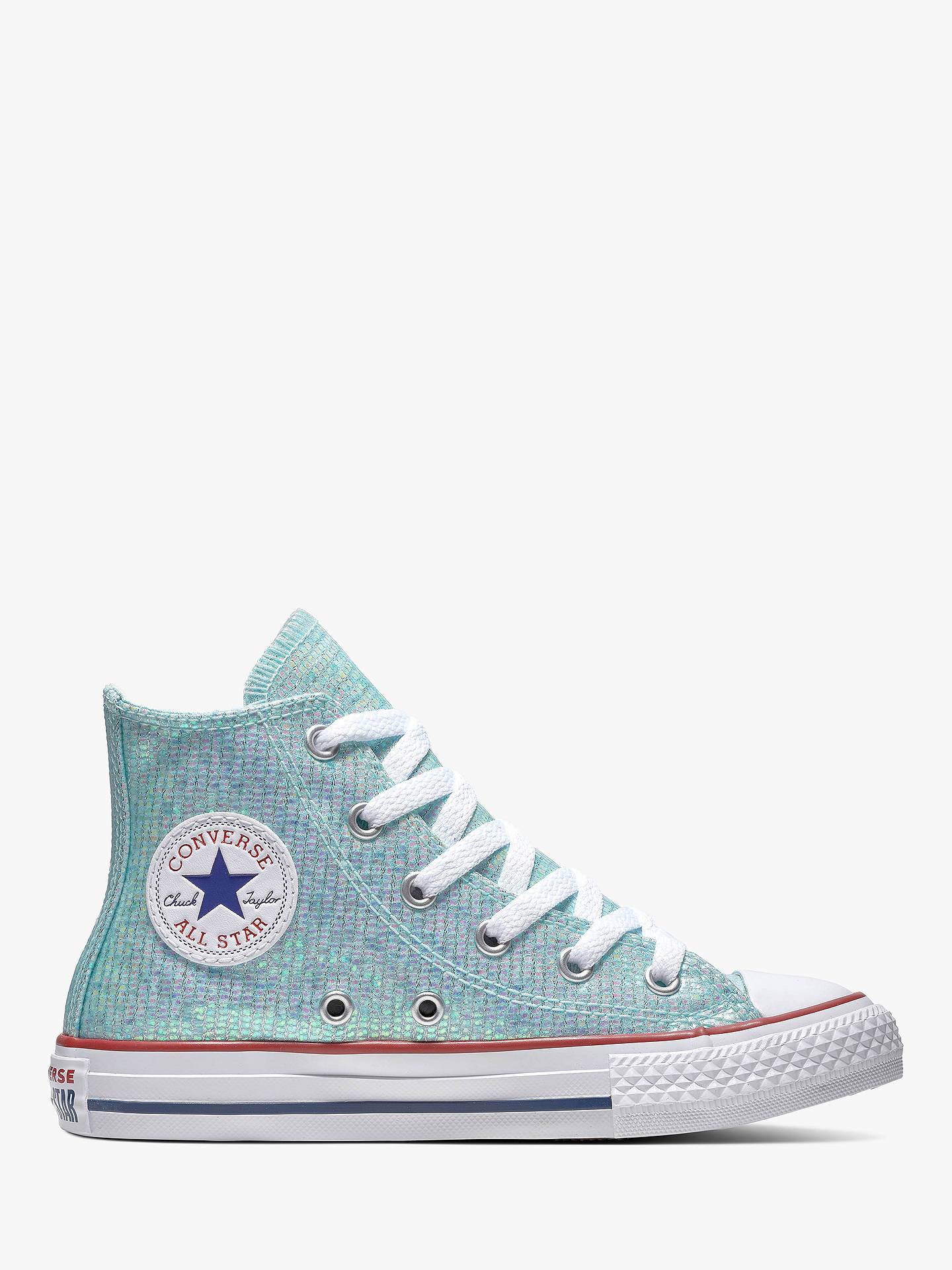 390f1ed3f632 Buy Converse Children s All Star Glitter Hi-Top Trainers