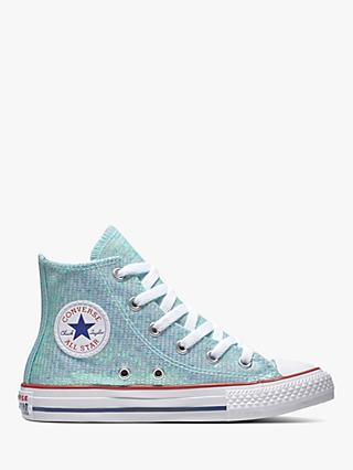 ed2fa64f9d07 Converse Children s All Star Glitter Hi-Top Trainers