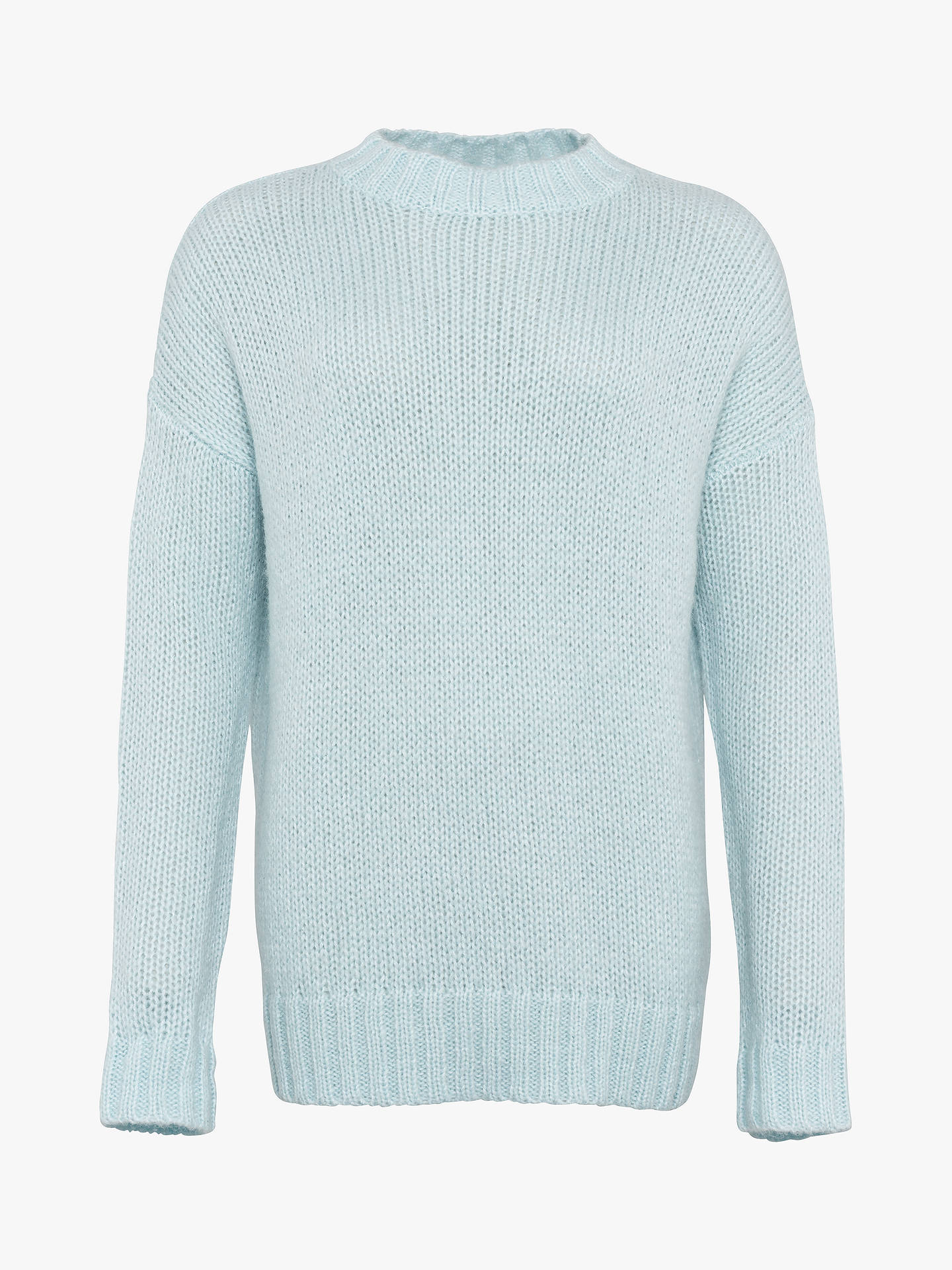 Buy French Connection Crew Neck Jumper, Light Frosty, XS Online at johnlewis.com