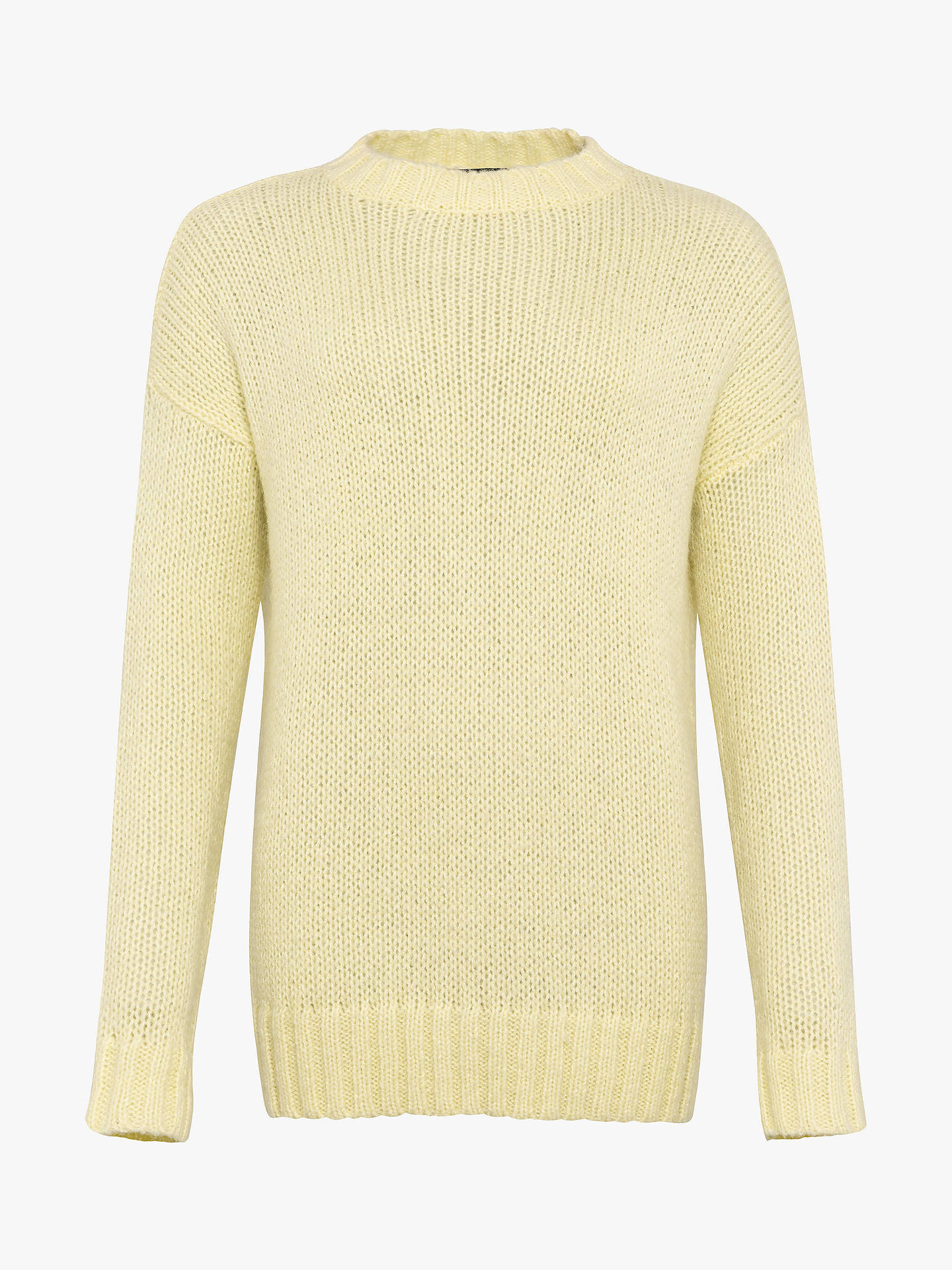 Buy French Connection Crew Neck Jumper, Egg Nog, M Online at johnlewis.com