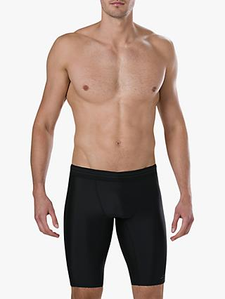 Speedo HydroSense Jammer Swimming Shorts, Black