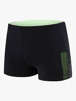 Buy Speedo Mesh Panel Aquashort Swim Shorts, Black, S Online at johnlewis.com