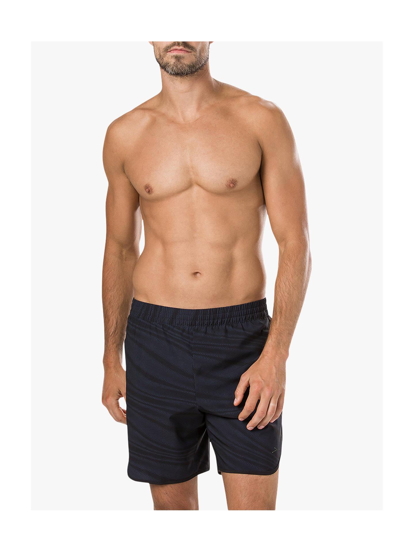 1afacfc981b0d Buy Speedo ReflectWave Trim Swim Shorts, Grey, S Online at johnlewis.com ...