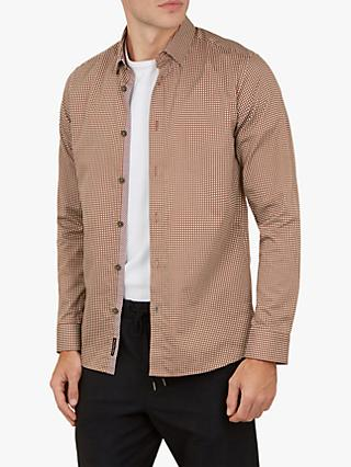 Ted Baker Jenkins Long Sleeve Printed Shirt