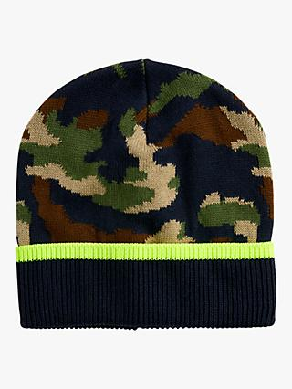 crewcuts by J.Crew Children's Camouflage Beanie Hat, Green