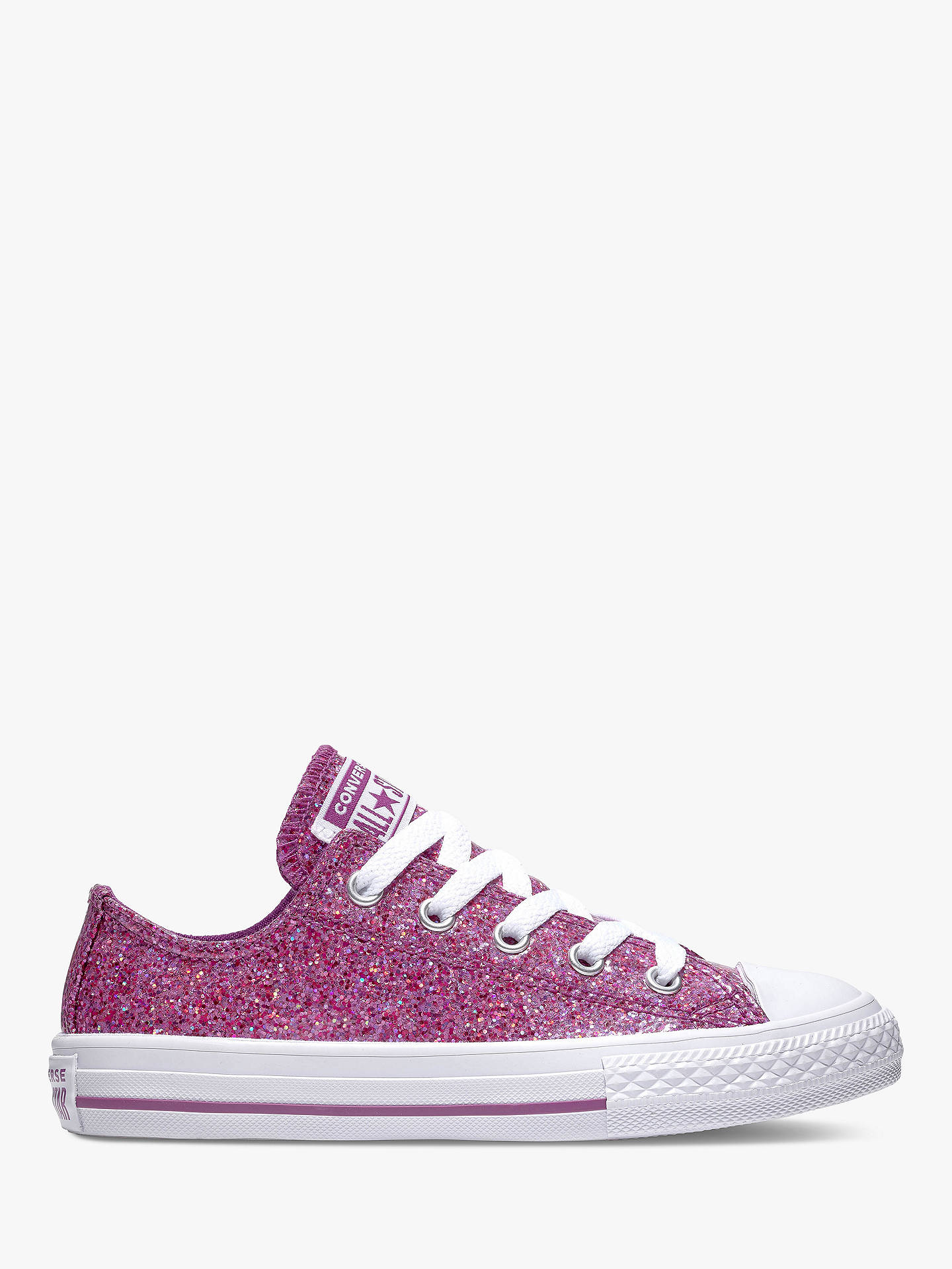 ccd343ec4cd9 Buy Converse Children s All Star 2V Glitter Trainers