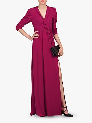 Jolie Moi Twist Knot Front Dress