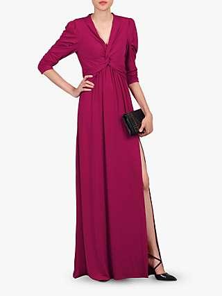 Jolie Moi Twist Knot Front Dress
