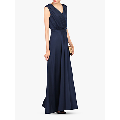 Jolie Moi Plunge Wrap Dress