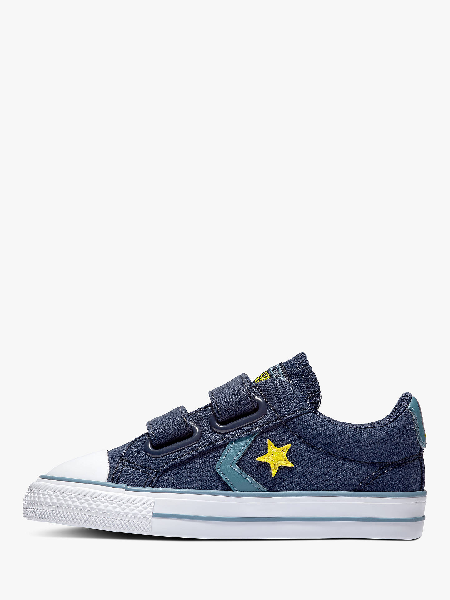 Converse Children's Star Player 2V Trainers, Navy at John