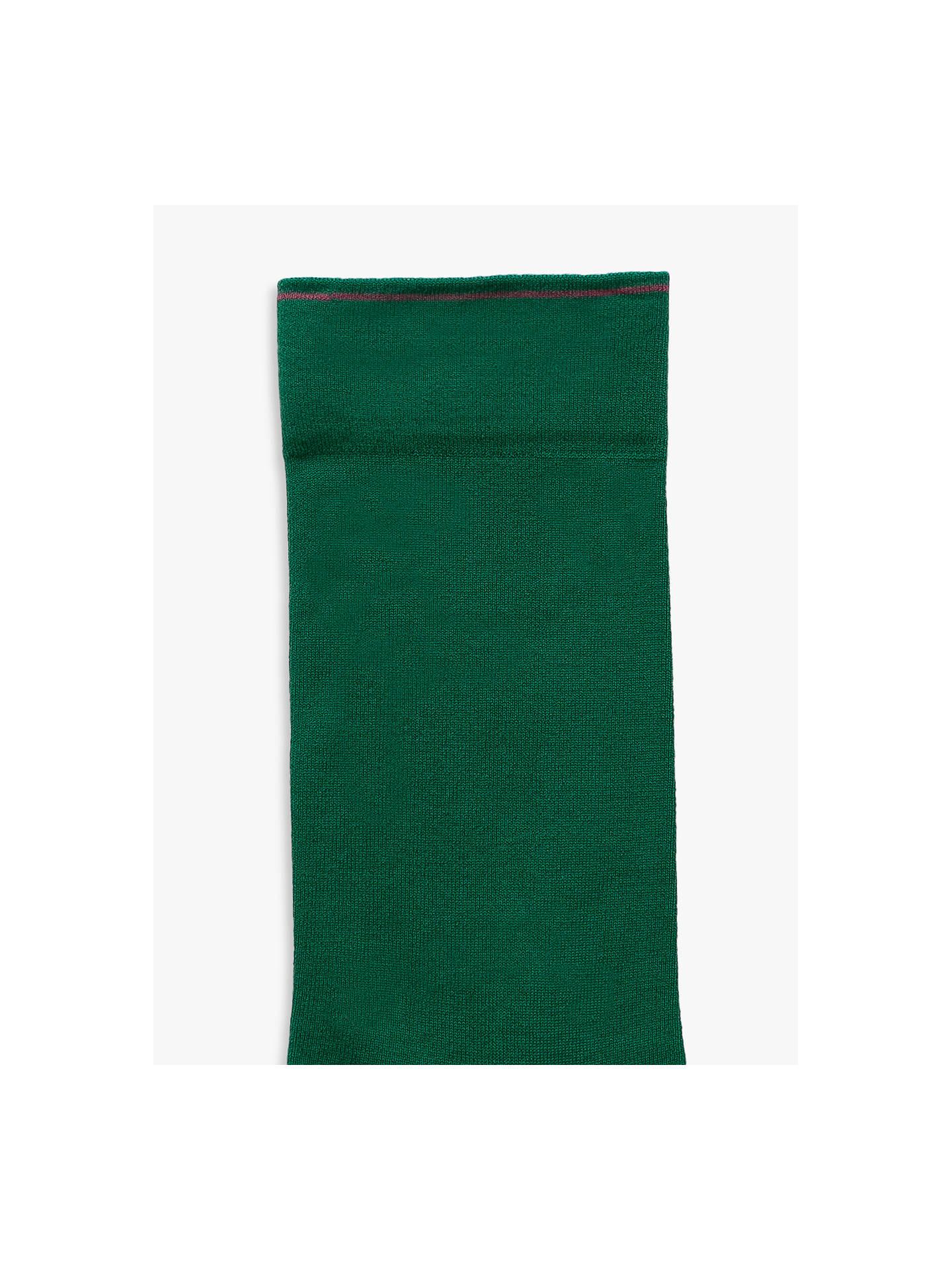 BuyBonne Maison Ultra Soft Socks, Green/Pink, S-M Online at johnlewis.com