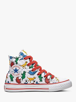 649609bf093451 Converse Children s All Star Dinoverse Hi-Top Trainers