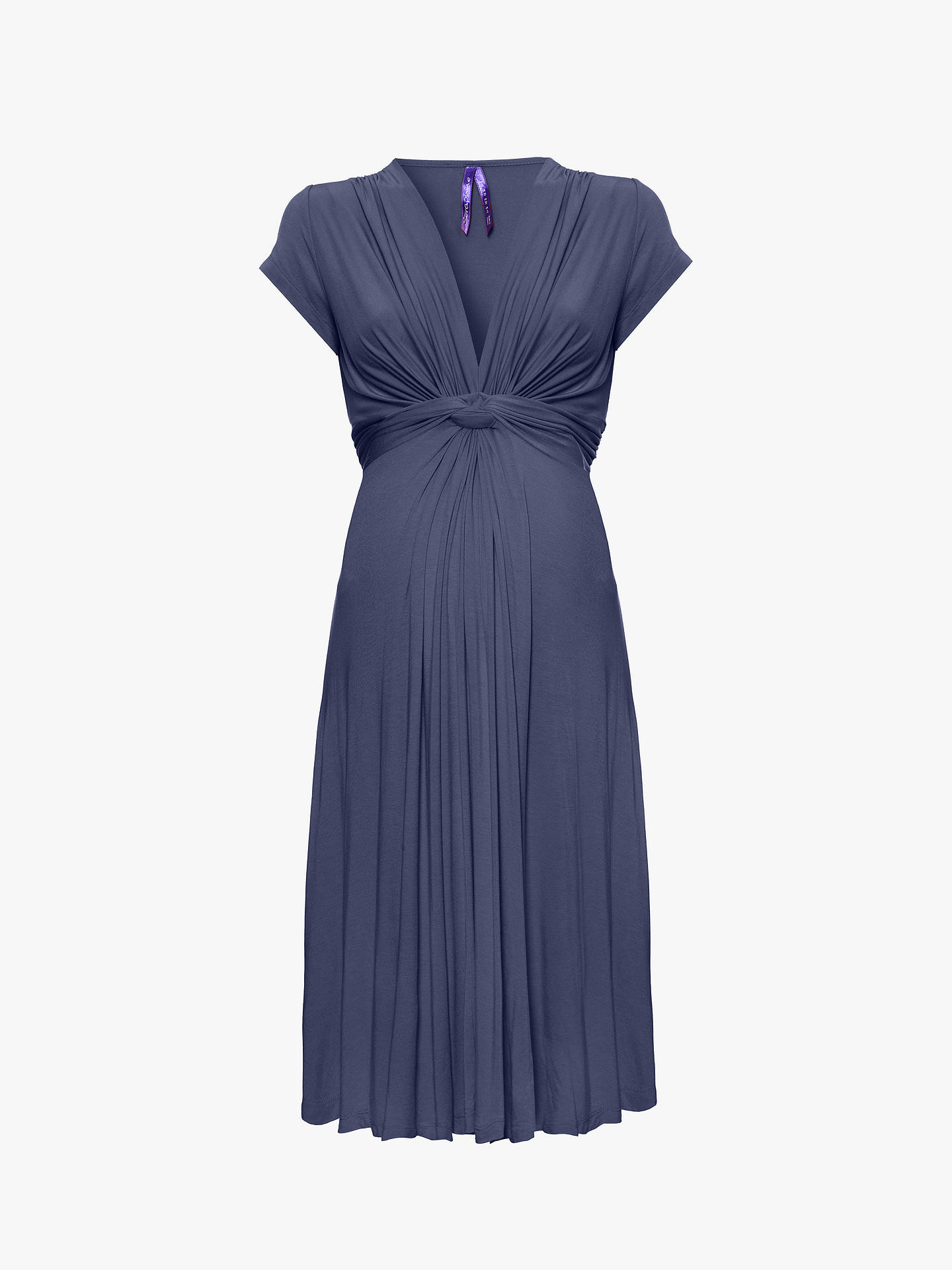 4e0ea71a320ae Seraphine Silk Printed Maternity Maxi Dress