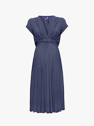 Séraphine Jolene Fluted Knot Nursing Maternity Dress 768803b598f4f