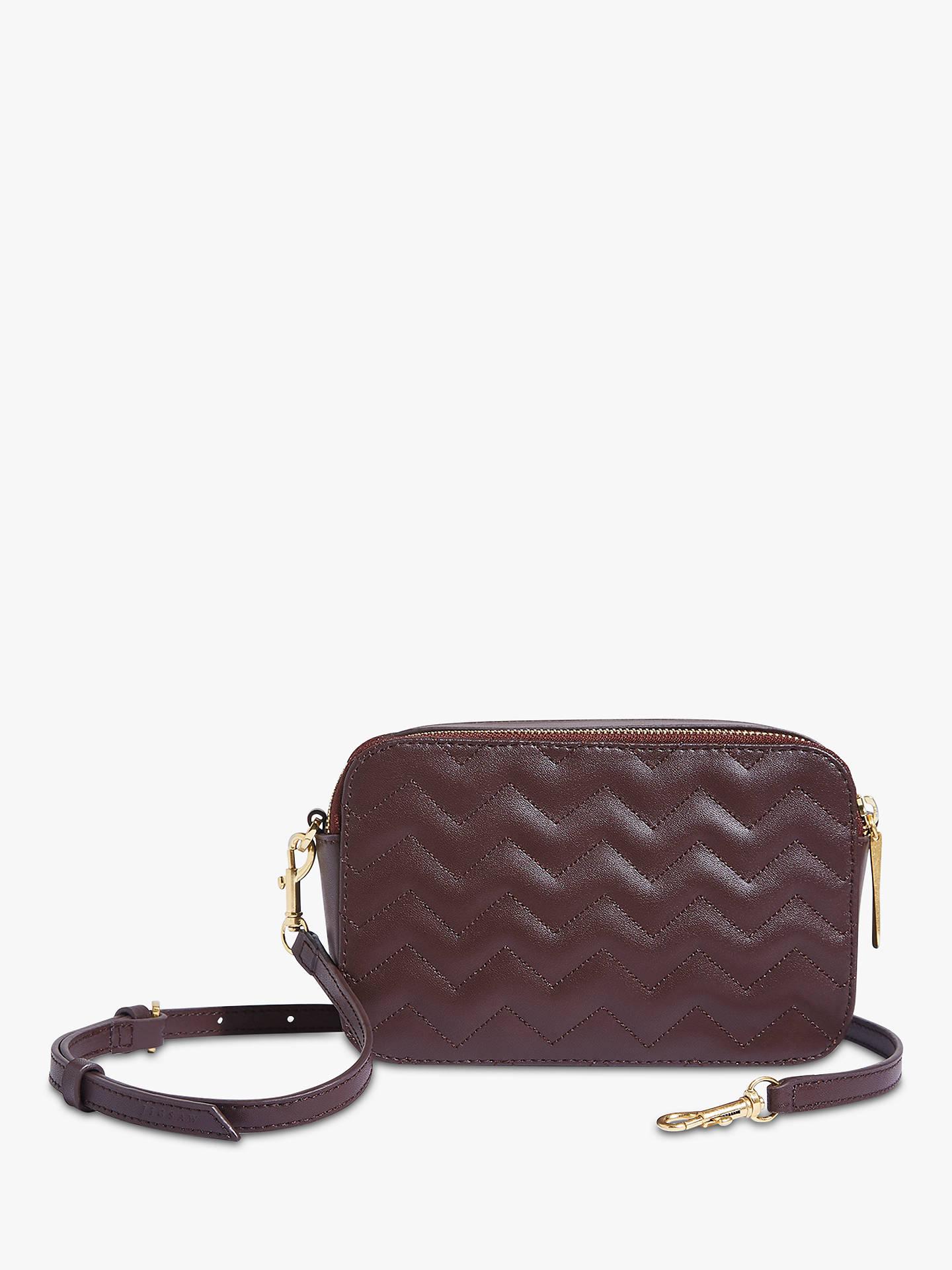 df522b57863e ... Buy Jigsaw Wren Zig Zag Leather Cross Body Bag