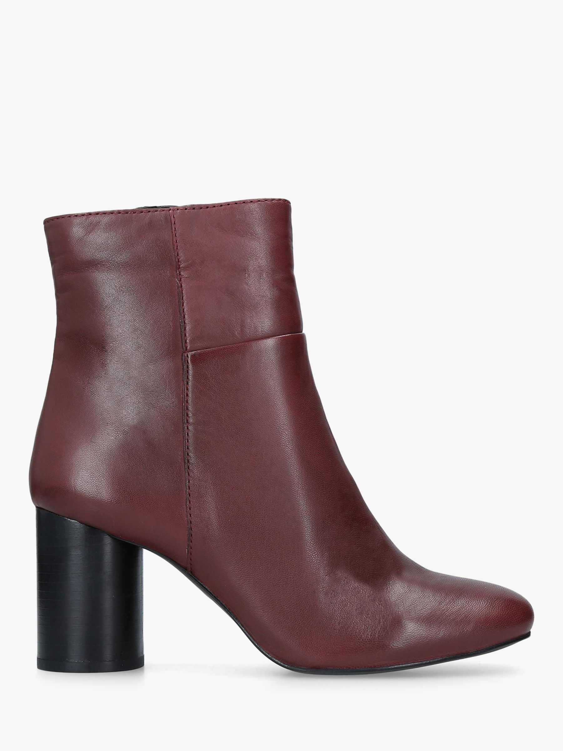 ddcac7713b5 Carvela Pop Leather Heeled Ankle Boots at John Lewis & Partners