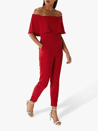 Coast Harlem Jumpsuit, Red