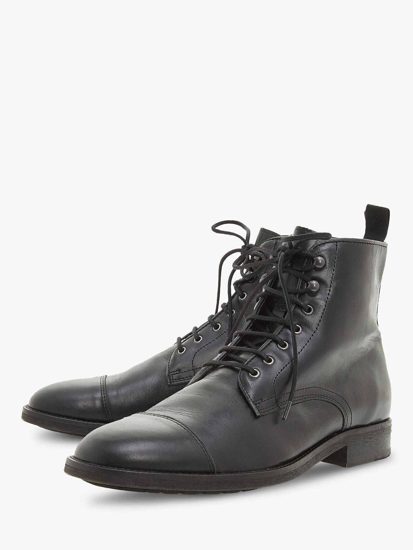 BuyBertie Christchurch Worker Boots, Black, 8 Online at johnlewis.com