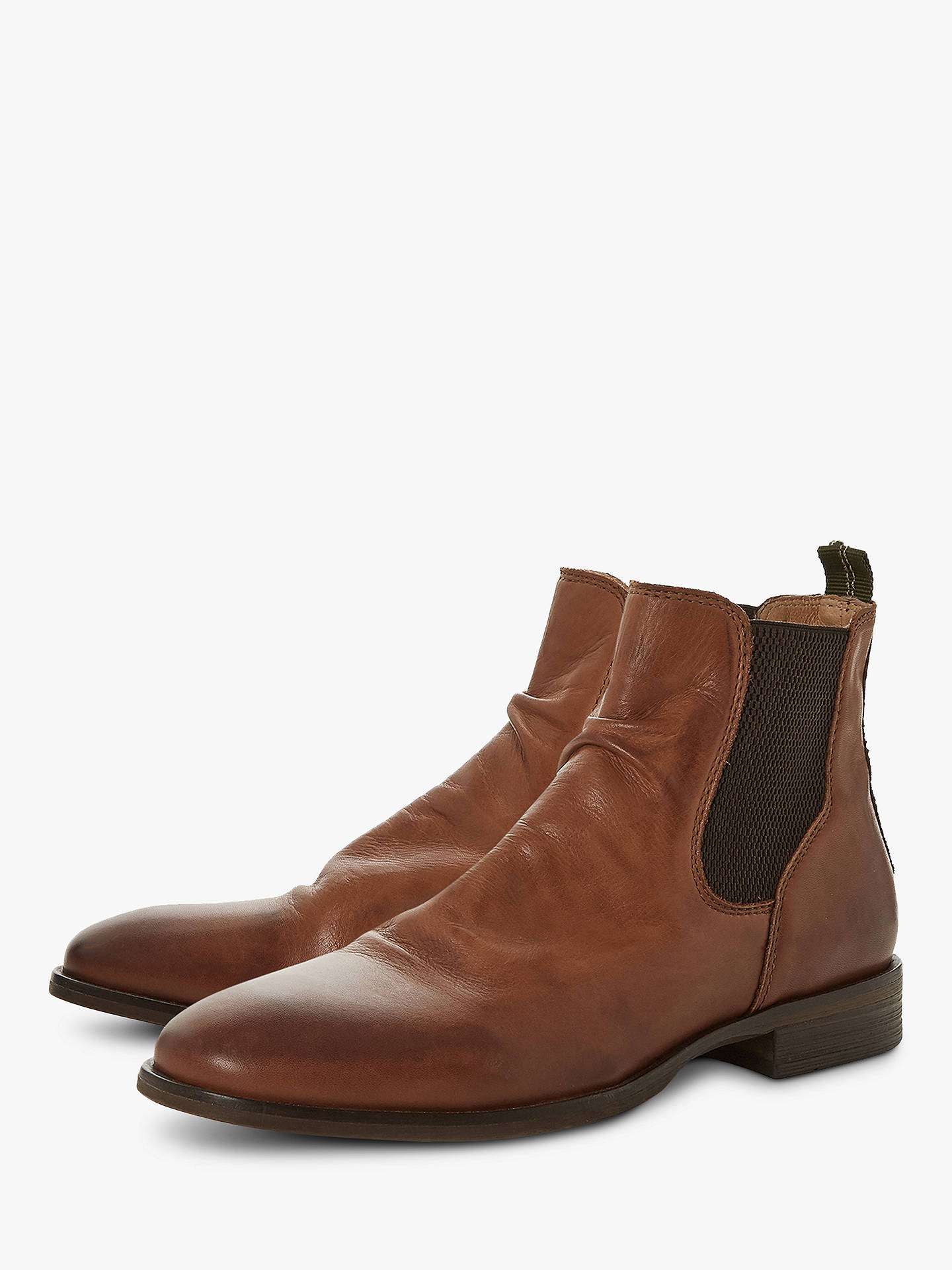 BuyBertie Cage Chelsea Boots, Brown, 6 Online at johnlewis.com