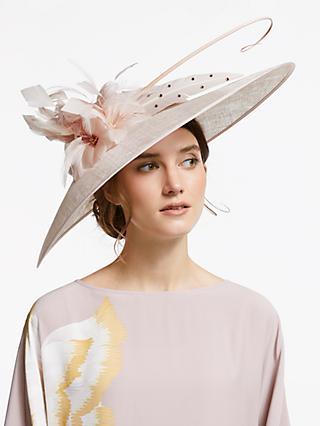 a31dd9a5160 John Lewis   Partners Elle Floral Down Brim Disc Occasion Hat