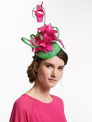 225a6233adc91 John Lewis   Partners Laura Flower and Loop Pillbox Fascinator