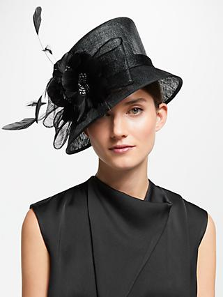 b83a2d12cda John Lewis   Partners Irene Floral Feather Occasion Hat