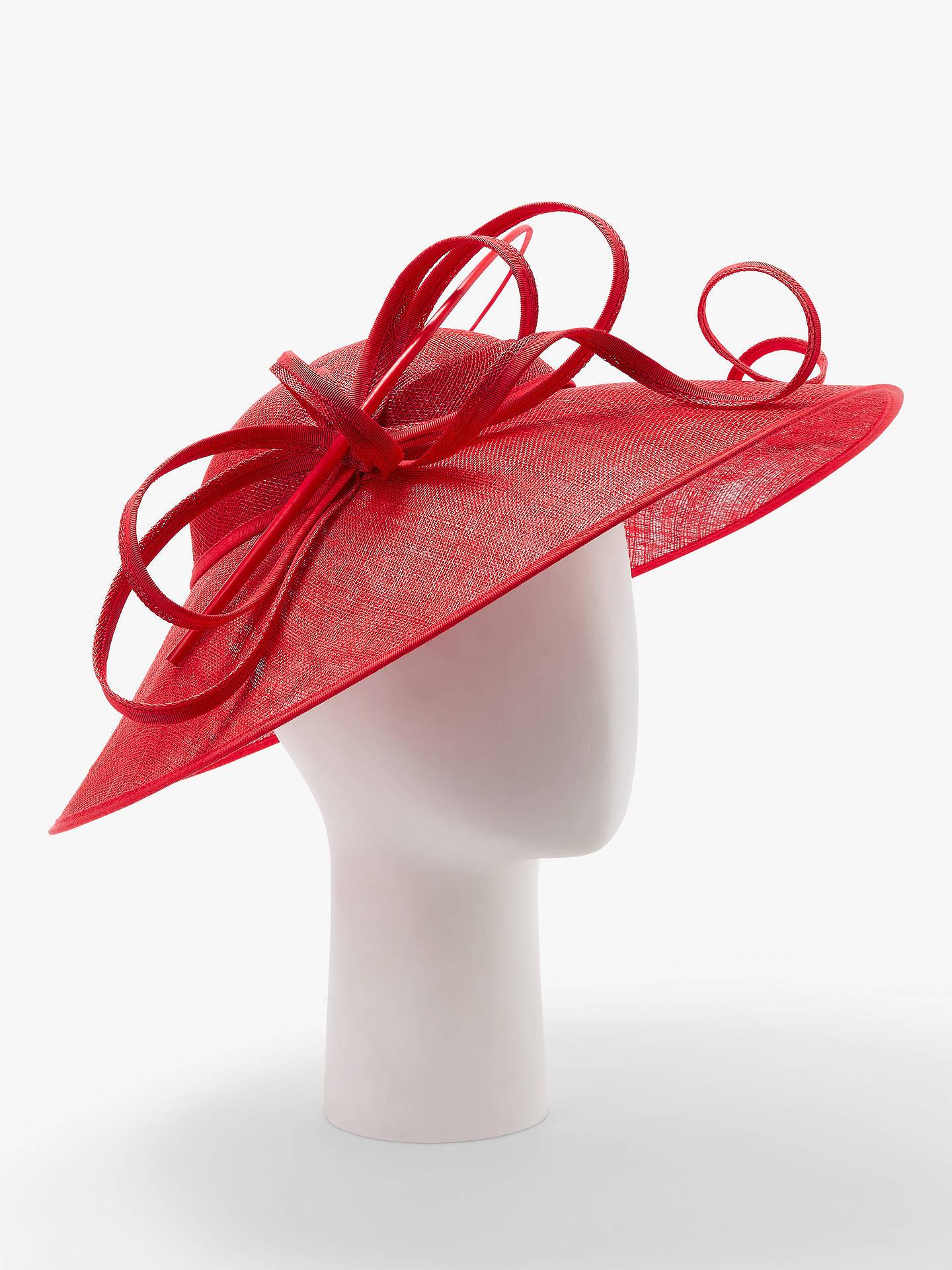 f03acace9c099 John Lewis   Partners Harper Down Brim Disc Occasion Hat at John ...