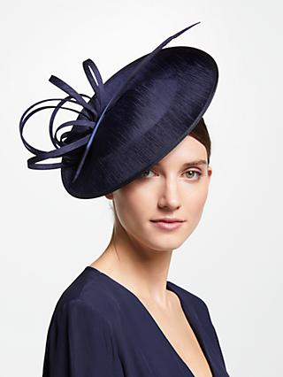 John Lewis & Partners Erin Swirl Downturn Disc Occasion Hat
