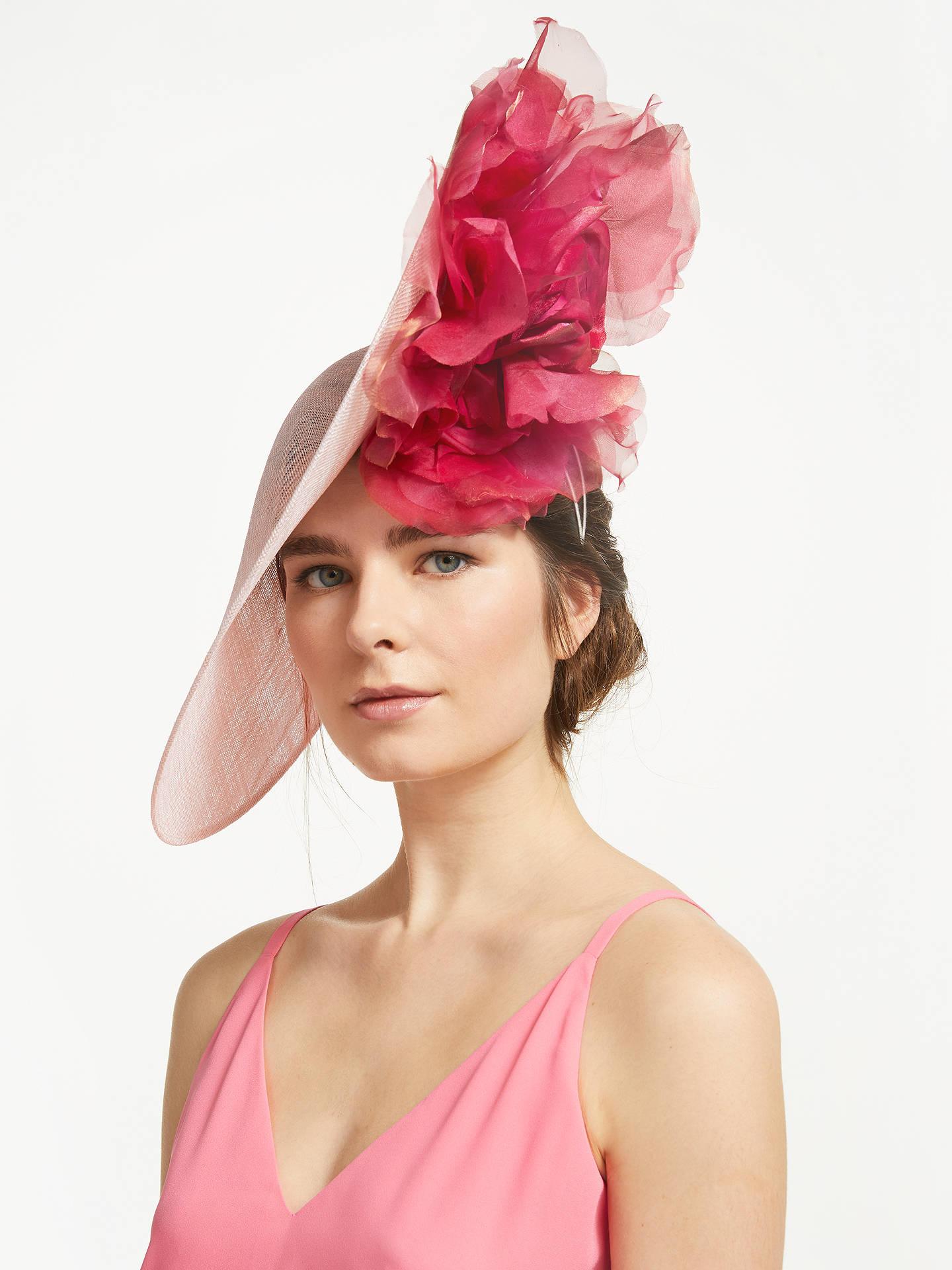 f983de590bf01 Buy Bundle MacLaren Millinery Arabella Statement Flower Detail Disc  Occasion Hat