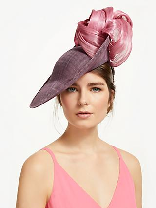 eee0f176 Bundle MacLaren Millinery Amanda Statement Loop Slanted Disc Occasion Hat,  Lilac/Pink