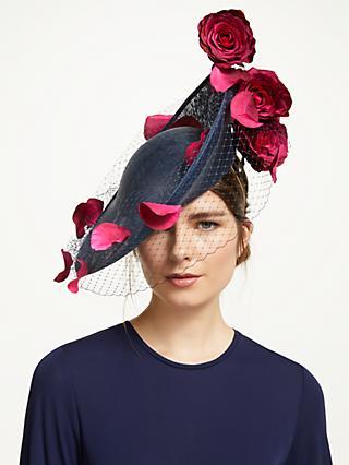 ab99316104f69 Bundle MacLaren Millinery Eliza Flower Petal Cascade Disc Veil Occasion Hat