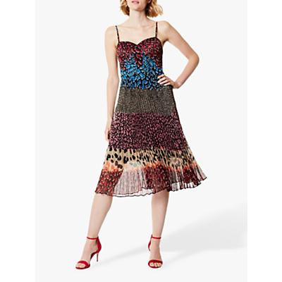 Karen Millen Blocked Print Dress, Multi