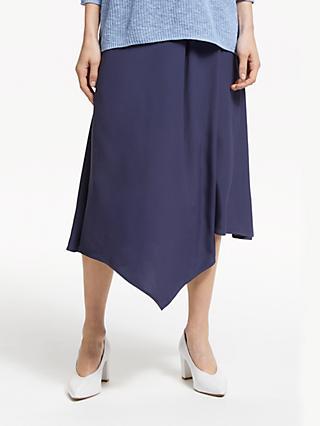 John Lewis   Partners Asymmetric Fold Midi Skirt d3b0c781c5e