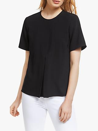 John Lewis & Partners Split Sleeve Shell Top