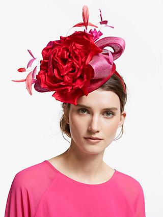4d4a144c40764 Snoxells Giselle Rose Pillbox Fascinator