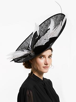 7dfc7008105 Snoxells Roslyn Feather Quills Side Up Disc Occasion Hat