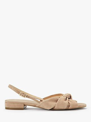 Modern Rarity Laurel Suede Slingback Sandals