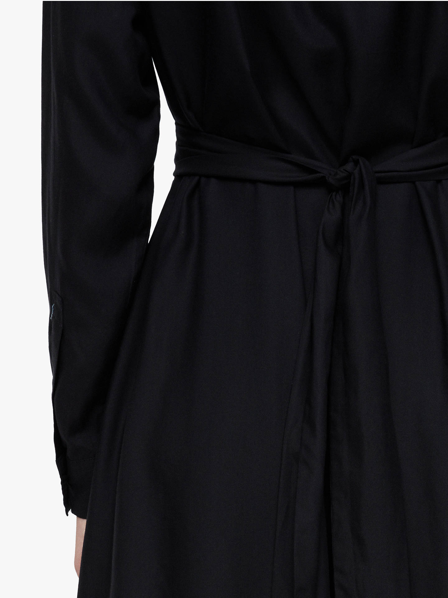 BuyAllSaints Flyn Dress, Black, M Online at johnlewis.com
