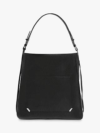 AllSaints Vincent Leather North South Tote Bag