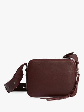 Allsaints Vincent Leather Cross Body Bag