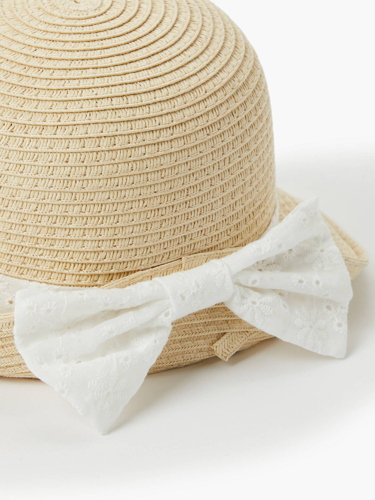 bbf918509115d ... Buy John Lewis   Partners Baby s Straw Hat
